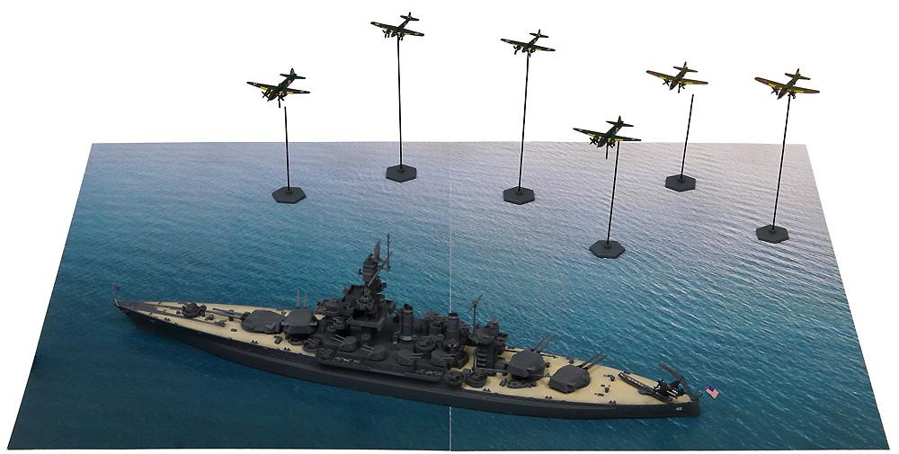 サイパン上陸支援作戦 (BB-46 メリーランド VS 日本海軍陸攻部隊)プラモデル(ピットロードスカイウェーブ S シリーズNo.SPS006)商品画像_1