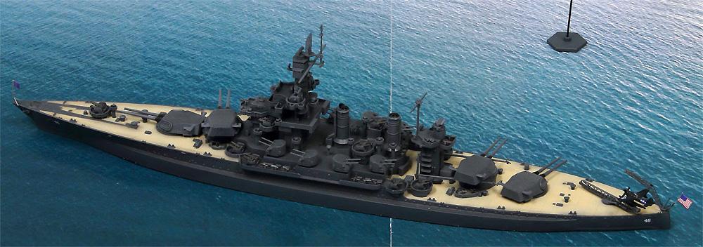 サイパン上陸支援作戦 (BB-46 メリーランド VS 日本海軍陸攻部隊)プラモデル(ピットロードスカイウェーブ S シリーズNo.SPS006)商品画像_4