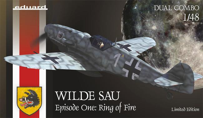 ヴィルデザウ エピソード1 : リング・オブ・ファイアー Bf109G-5/G-6 デュアルコンボプラモデル(エデュアルド1/48 リミテッドエディションNo.11140)商品画像