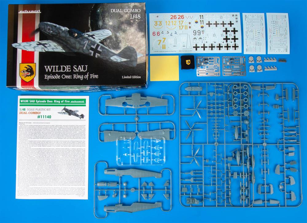 ヴィルデザウ エピソード1 : リング・オブ・ファイアー Bf109G-5/G-6 デュアルコンボプラモデル(エデュアルド1/48 リミテッドエディションNo.11140)商品画像_1