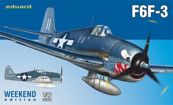 グラマン F6F-3 ヘルキャットプラモデル(エデュアルド1/48 ウィークエンド エディションNo.84160)商品画像
