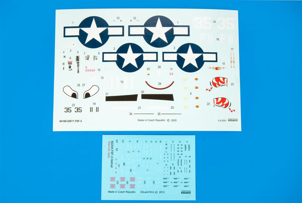 グラマン F6F-3 ヘルキャットプラモデル(エデュアルド1/48 ウィークエンド エディションNo.84160)商品画像_2