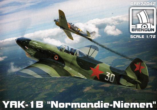 ヤコブレフ Yak-1B ノルマンディー ニーメンプラモデル(ブレンガン1/72 Plastic kitsNo.BRP72042)商品画像