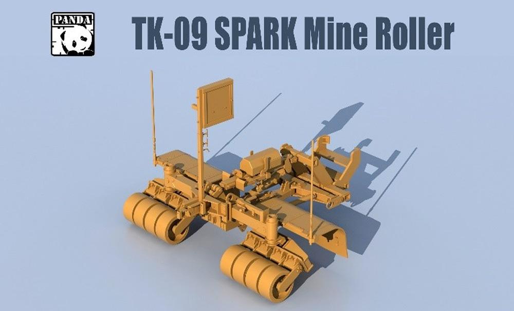SPARK マインローラー (地雷処理装置)プラモデル(パンダホビー連結可動履帯No.TK-009)商品画像_1