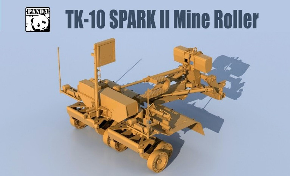 SPARK 2 マインローラー (地雷処理装置)プラモデル(パンダホビー連結可動履帯No.TK-010)商品画像_1
