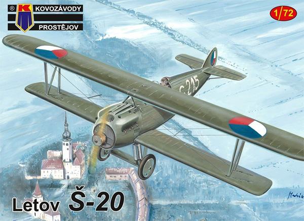 レトフ S-20 戦闘機プラモデル(KPモデル1/72 エアクラフト プラモデルNo.KPM0195)商品画像