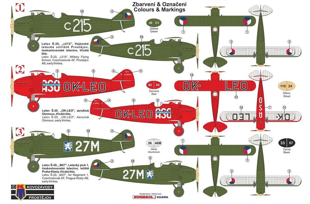 レトフ S-20 戦闘機プラモデル(KPモデル1/72 エアクラフト プラモデルNo.KPM0195)商品画像_1