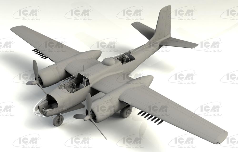 B-26C-50 インベーダー コリアンウォープラモデル(ICM1/48 エアクラフト プラモデルNo.48284)商品画像_1