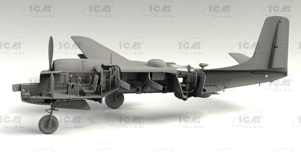 B-26C-50 インベーダー コリアンウォープラモデル(ICM1/48 エアクラフト プラモデルNo.48284)商品画像_3