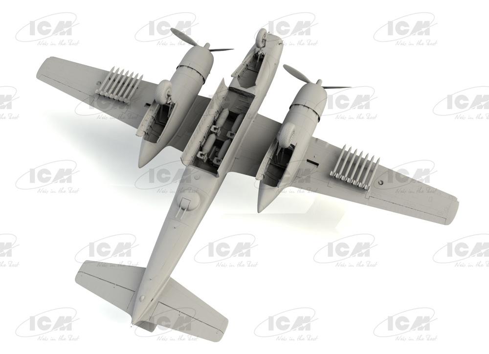 B-26C-50 インベーダー コリアンウォープラモデル(ICM1/48 エアクラフト プラモデルNo.48284)商品画像_4