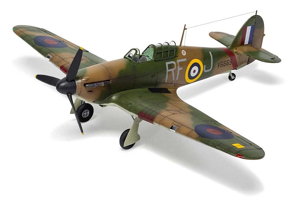 ホーカー ハリケーン Mk.1プラモデル(エアフィックス1/48 ミリタリーエアクラフトNo.A05127A)商品画像_3