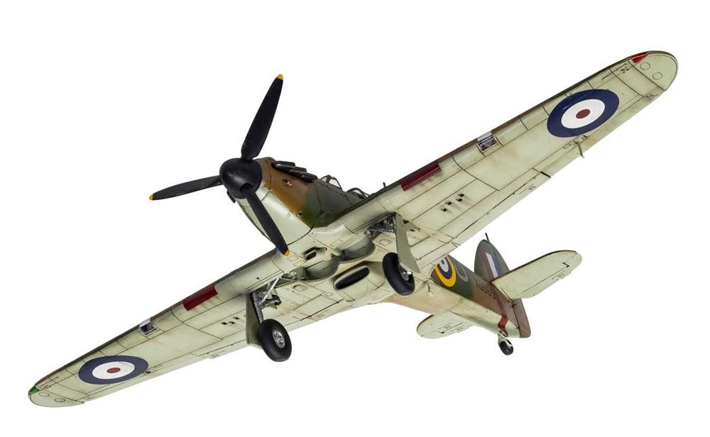 ホーカー ハリケーン Mk.1プラモデル(エアフィックス1/48 ミリタリーエアクラフトNo.A05127A)商品画像_4
