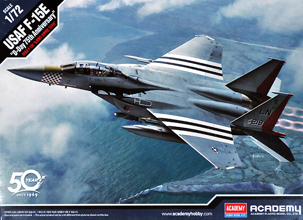 アメリカ空軍 F-15E ストライクイーグル D-DAY 75周年記念塗装プラモデル(アカデミー1/72 AircraftsNo.12568)商品画像
