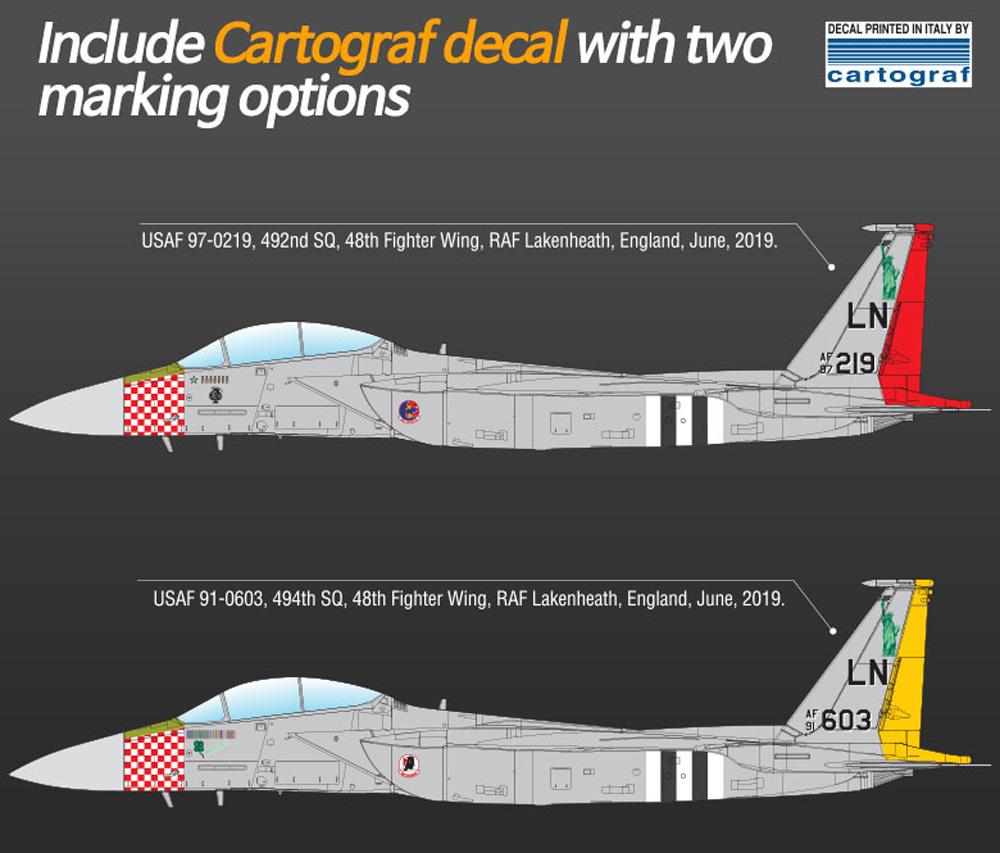 アメリカ空軍 F-15E ストライクイーグル D-DAY 75周年記念塗装プラモデル(アカデミー1/72 AircraftsNo.12568)商品画像_2