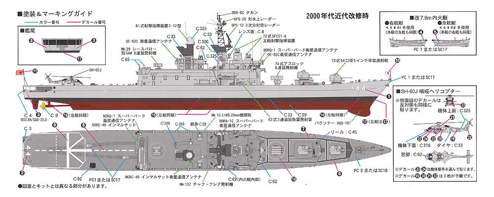 海上自衛隊 護衛艦 DDH-144 くらま エッチングパーツ付プラモデル(ピットロード1/700 スカイウェーブ J シリーズNo.J-077E)商品画像_1