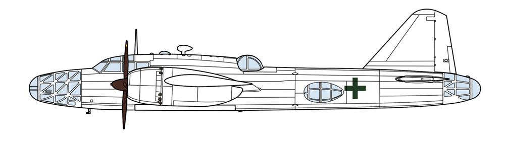 三菱 キ67 四式重爆撃機 飛龍 緑十字プラモデル(ハセガワ1/72 飛行機 限定生産No.02352)商品画像_2