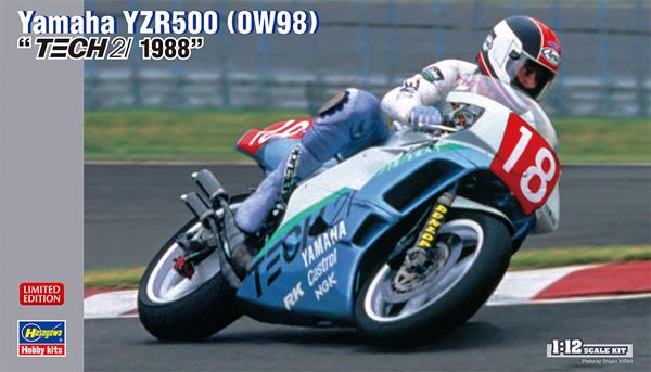 ヤマハ YZR500 (0W98) TECH 21 1988プラモデル(ハセガワ1/12 バイクシリーズNo.21727)商品画像