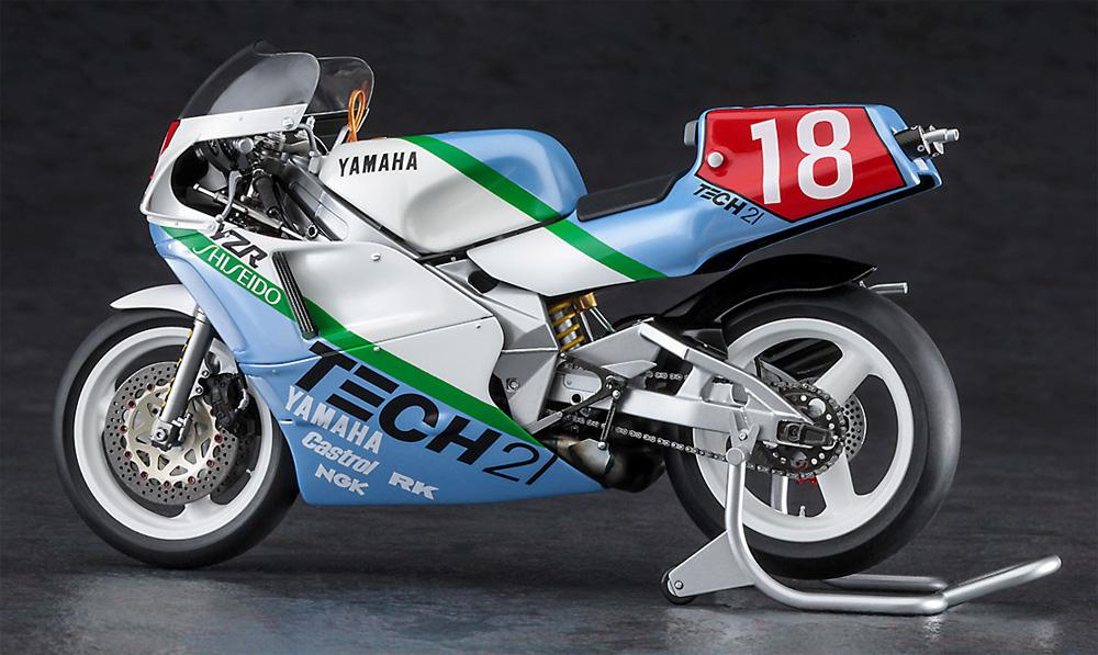 ヤマハ YZR500 (0W98) TECH 21 1988プラモデル(ハセガワ1/12 バイクシリーズNo.21727)商品画像_3