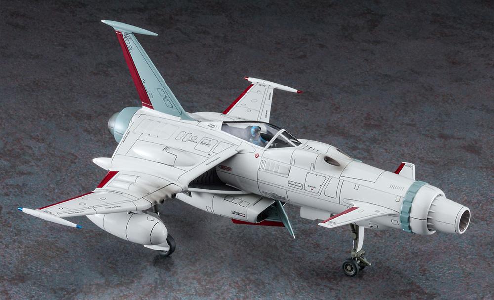 スペースウルフ SW-190 対マゾーン戦 w/有紀螢フィギュア (キャプテンハーロック)プラモデル(ハセガワクリエイター ワークス シリーズNo.64785)商品画像_3
