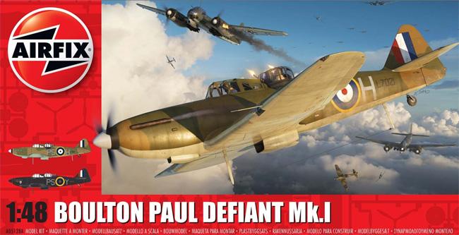 ボールトンポール デファイアント Mk.1プラモデル(エアフィックス1/48 ミリタリーエアクラフトNo.A05128A)商品画像