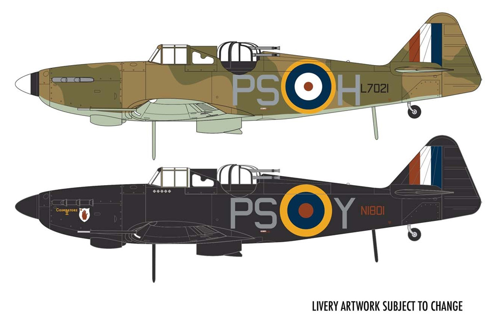 ボールトンポール デファイアント Mk.1プラモデル(エアフィックス1/48 ミリタリーエアクラフトNo.A05128A)商品画像_1
