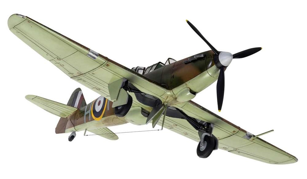 ボールトンポール デファイアント Mk.1プラモデル(エアフィックス1/48 ミリタリーエアクラフトNo.A05128A)商品画像_2