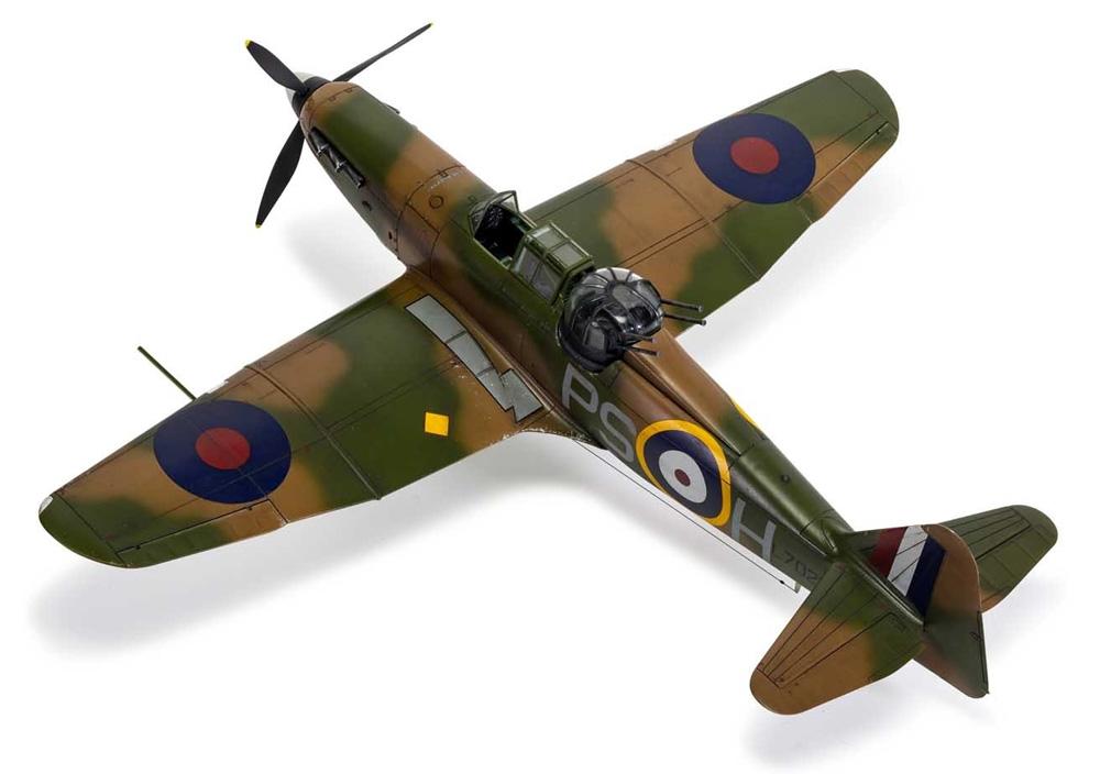 ボールトンポール デファイアント Mk.1プラモデル(エアフィックス1/48 ミリタリーエアクラフトNo.A05128A)商品画像_3