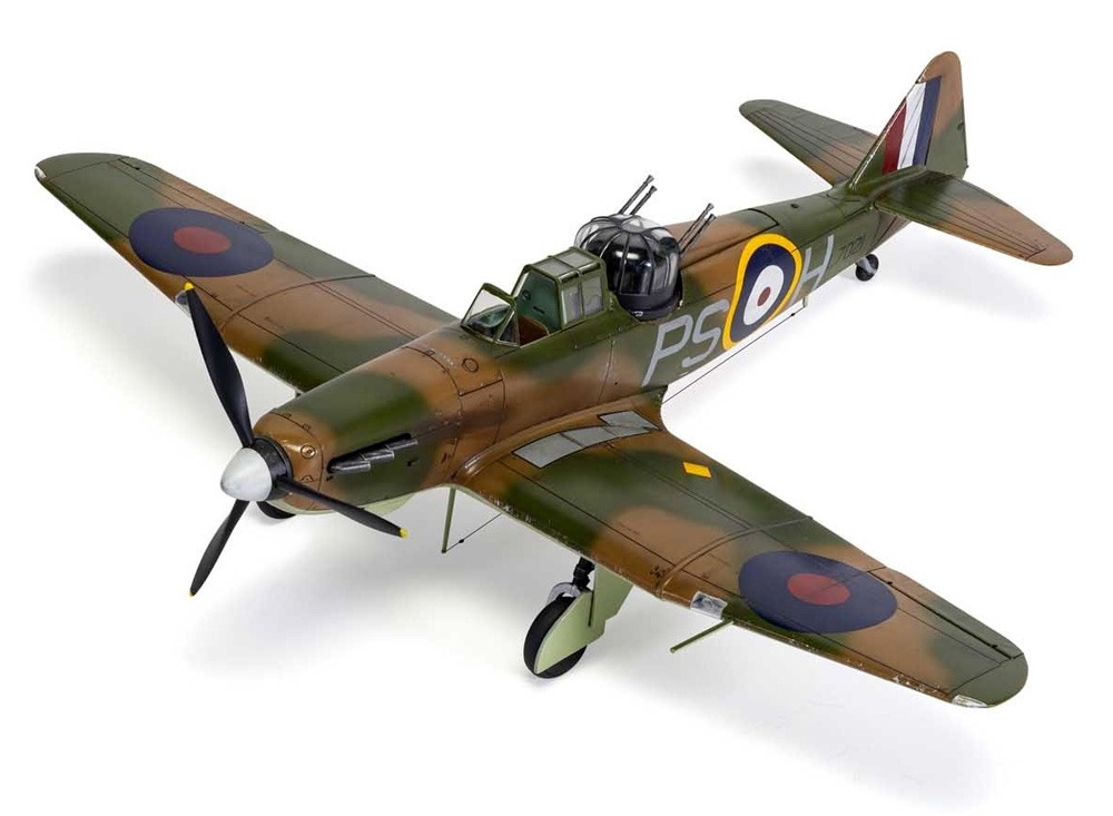 ボールトンポール デファイアント Mk.1プラモデル(エアフィックス1/48 ミリタリーエアクラフトNo.A05128A)商品画像_4
