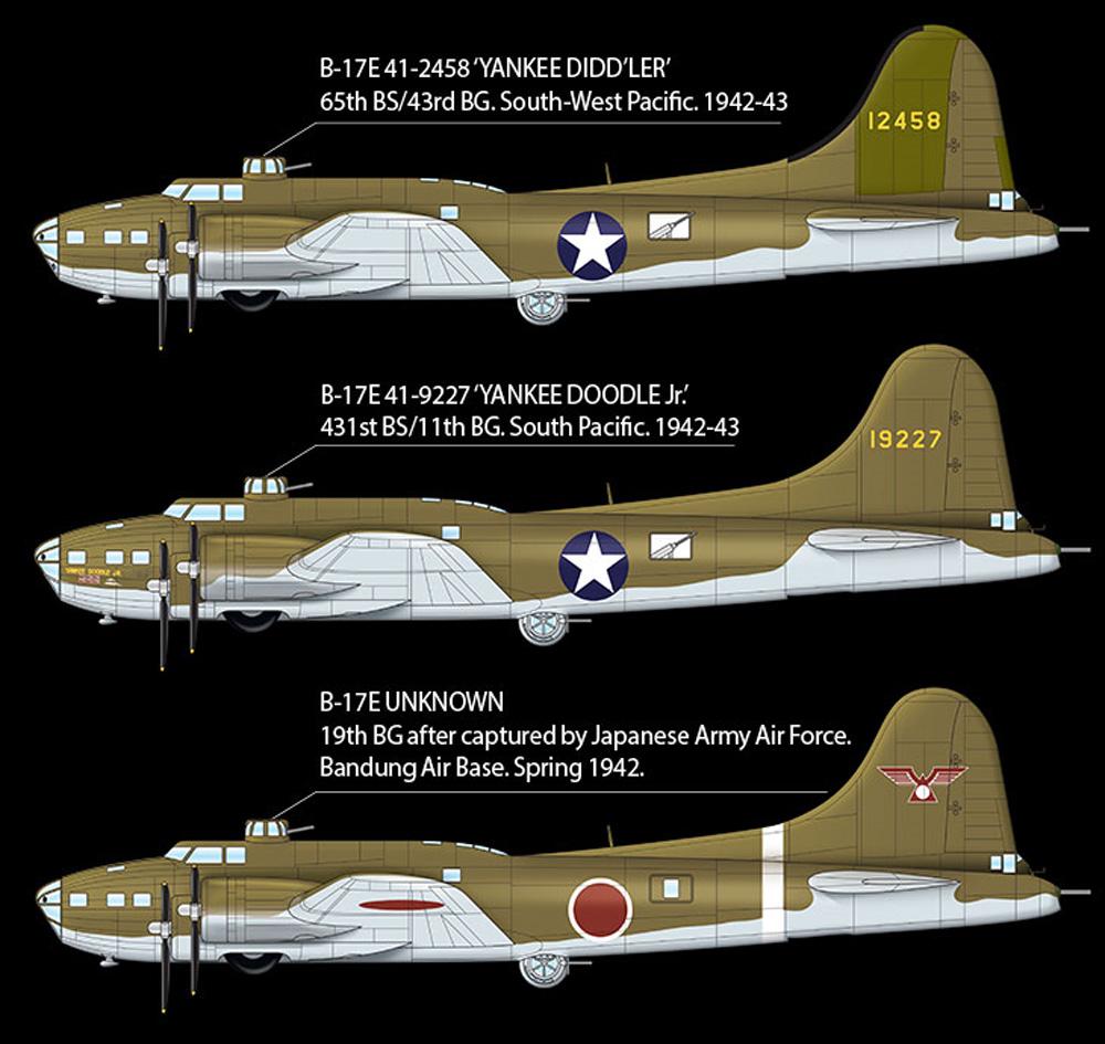 USAAF B-17E 太平洋戦線プラモデル(アカデミー1/72 AircraftsNo.12533)商品画像_2