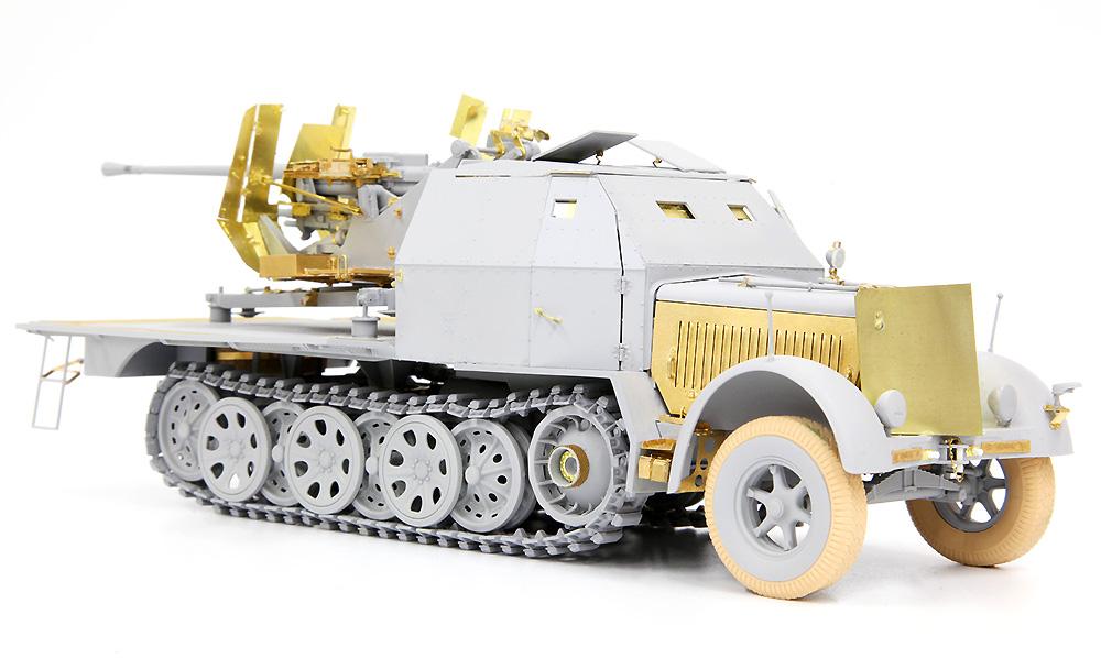 ドイツ Sd.Kfz.7/2 8トン ハーフトラック 3.7cm Flak37/36搭載型 2in1 ディテールアップパーツ付きプラモデル(ドラゴン1/35 39-45 SeriesNo.DR6953SP)商品画像_3