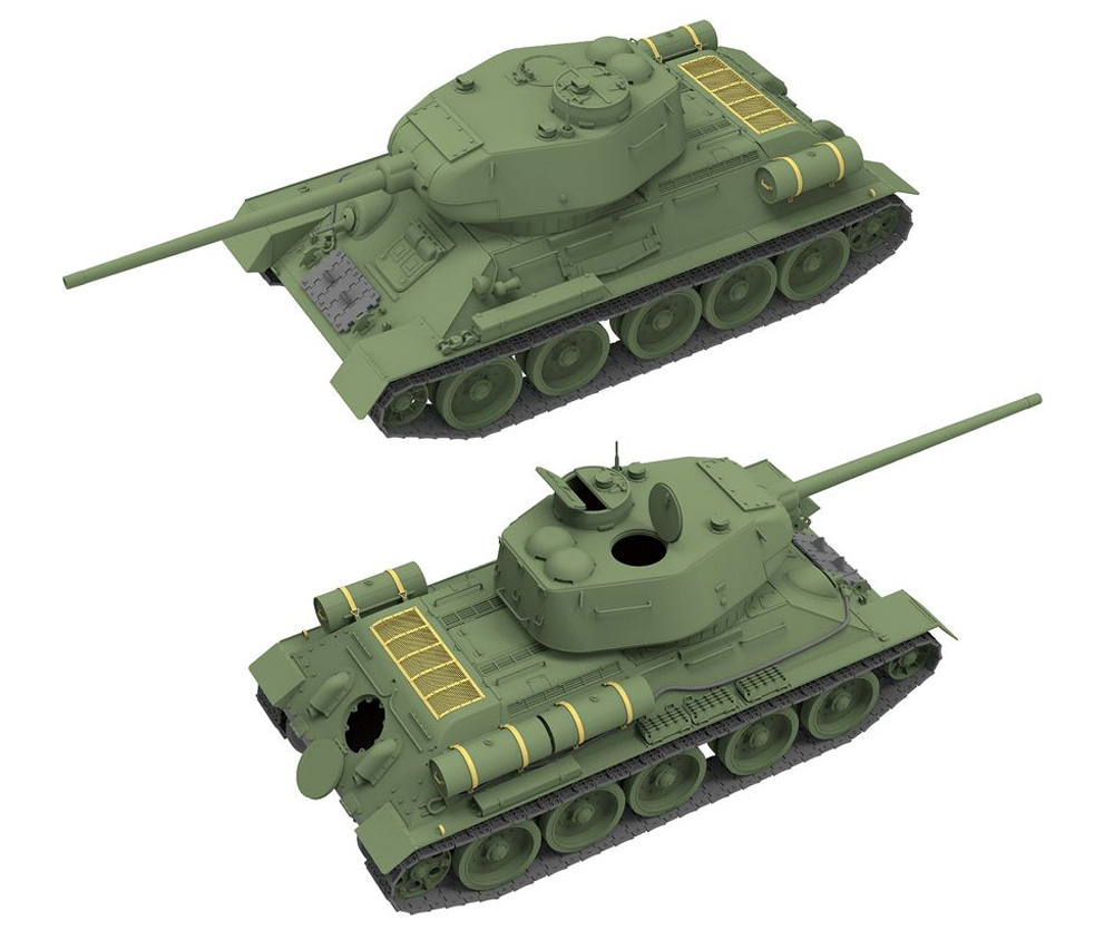 T-34/85 Mod.1944 第174工場プラモデル(ライ フィールド モデル1/35 Military Miniature SeriesNo.5040)商品画像_2