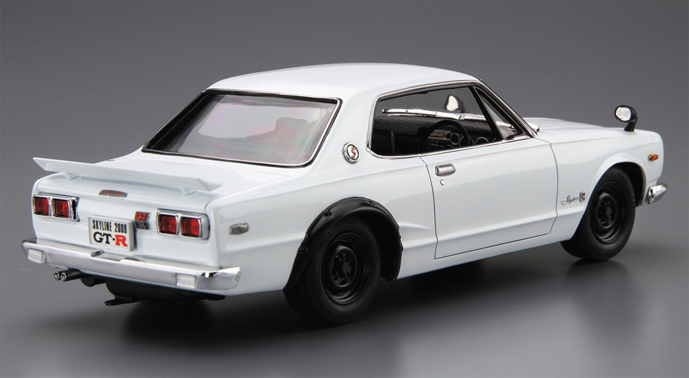 ニッサン KPGC10 スカイライン HT2000 GT-R '71プラモデル(アオシマ1/24 ザ・モデルカーNo.026)商品画像_3