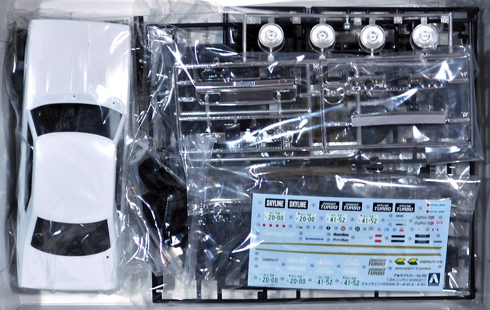 ニッサン KHGC211 スカイライン HT 2000 ターボ GT-E・S '81プラモデル(アオシマ1/24 ザ・モデルカーNo.056)商品画像_1