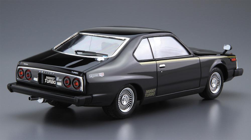 ニッサン KHGC211 スカイライン HT 2000 ターボ GT-E・S '81プラモデル(アオシマ1/24 ザ・モデルカーNo.056)商品画像_3