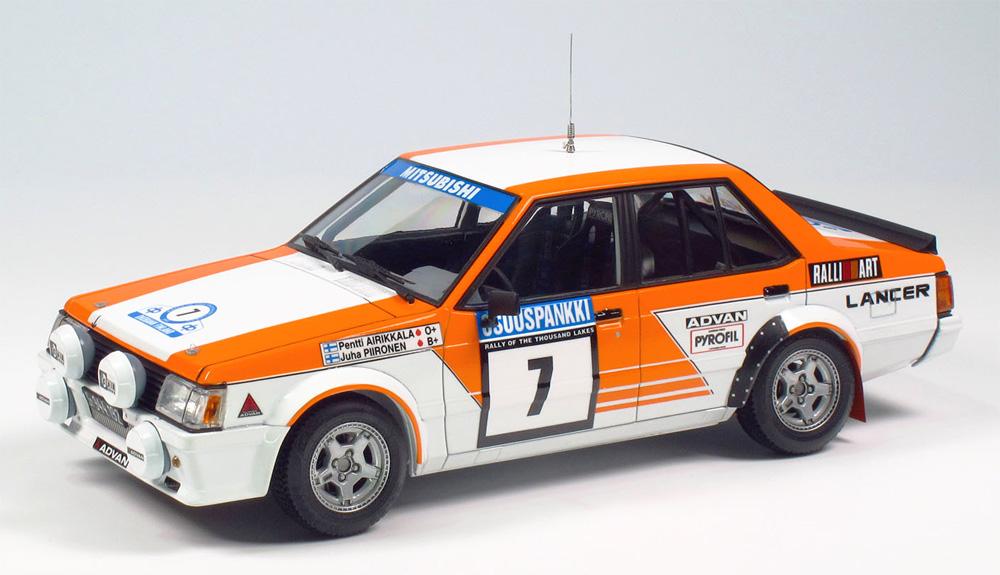 三菱 ランサー ターボ 1982 1000湖ラリープラモデル(NuNu1/24 レーシングシリーズNo.PN24018)商品画像_2