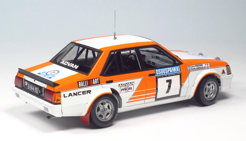 三菱 ランサー ターボ 1982 1000湖ラリープラモデル(NuNu1/24 レーシングシリーズNo.PN24018)商品画像_3