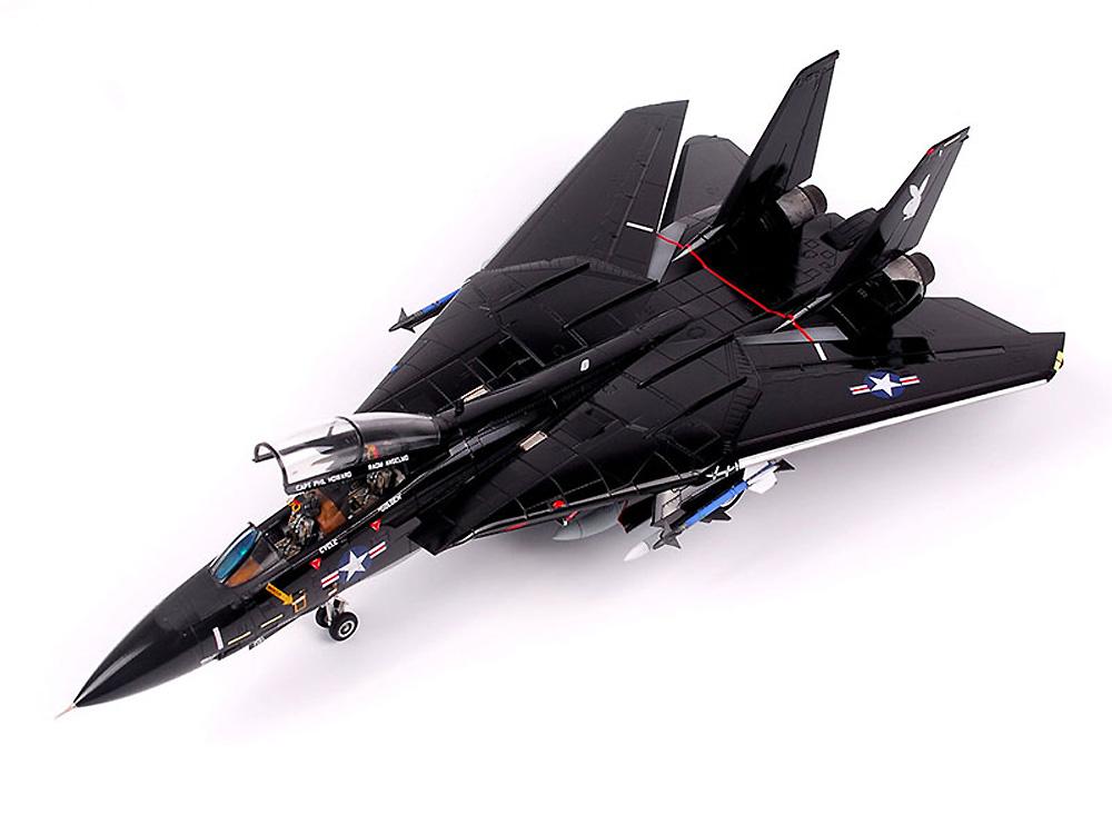 F-14A トムキャット Part 1 VX-4 エヴァリュエイーターズ ヴァンディ 1 (アカデミー用)デカール(ウルフパック1/72 デカール (WD)No.WD72009)商品画像_4