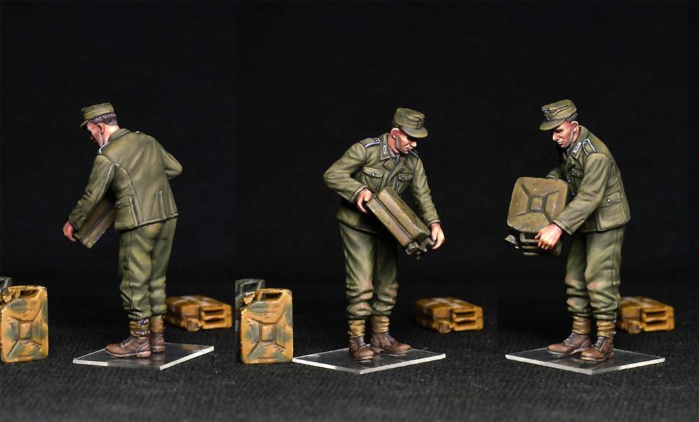 ドイツ兵とジェリカンプラモデル(ミニアート1/35 WW2 ミリタリーミニチュアNo.35286)商品画像_3