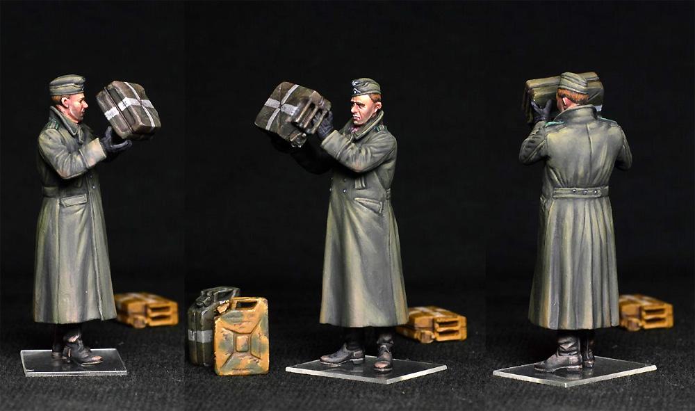 ドイツ兵とジェリカンプラモデル(ミニアート1/35 WW2 ミリタリーミニチュアNo.35286)商品画像_4