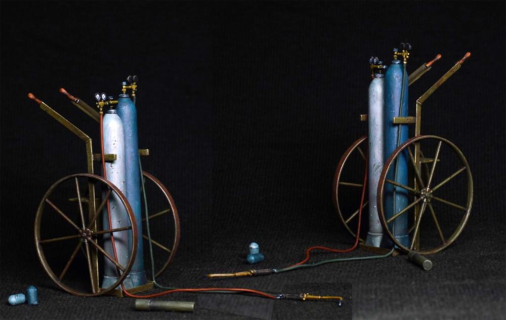 ガス溶接作業者プラモデル(ミニアート1/35 ミニチュアシリーズNo.38039)商品画像_4