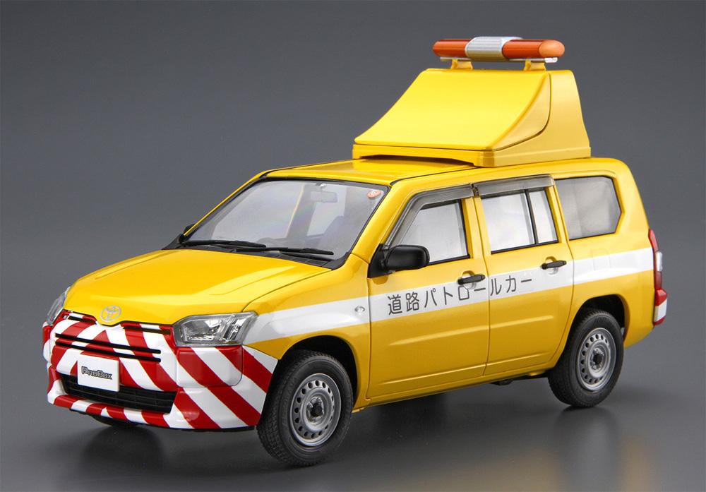 トヨタ NCP160V プロボックス '14 道路パトロールカー(プラモデル)(アオシマ1/24 ザ・モデルカーNo.SP4905083059975)商品画像_2