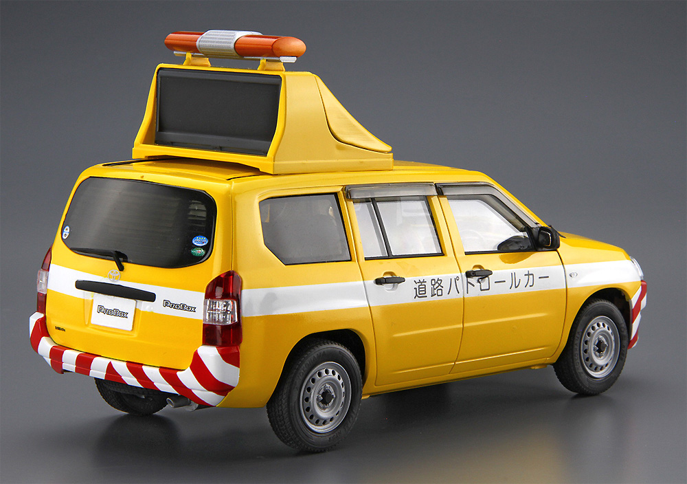 トヨタ NCP160V プロボックス '14 道路パトロールカー(プラモデル)(アオシマ1/24 ザ・モデルカーNo.SP4905083059975)商品画像_3