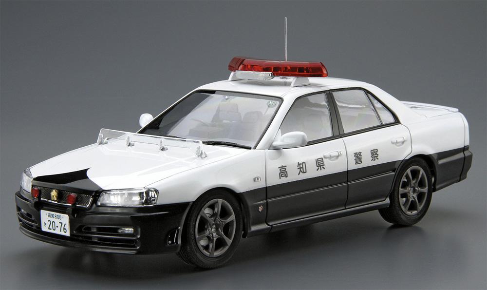 ニッサン ER34 スカイライン パトロールカー '01(プラモデル)(アオシマ1/24 ザ・モデルカーNo.SP4905083061251)商品画像_2