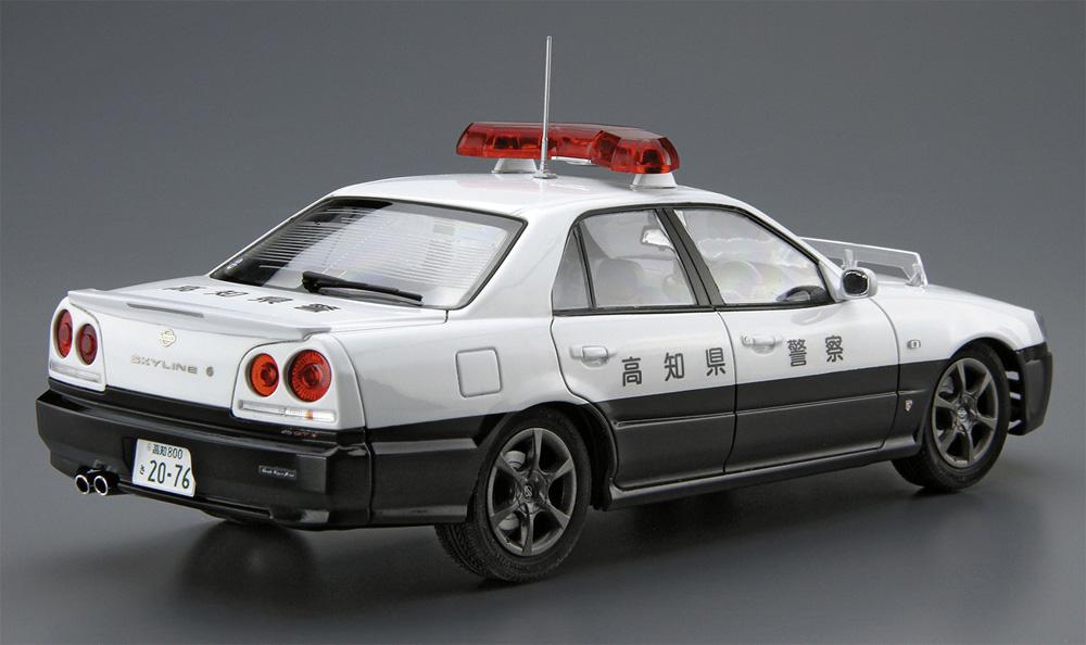 ニッサン ER34 スカイライン パトロールカー '01(プラモデル)(アオシマ1/24 ザ・モデルカーNo.SP4905083061251)商品画像_3