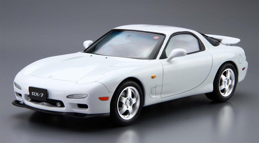 マツダ FD3S RX-7 '96(プラモデル)(アオシマ1/24 ザ・モデルカーNo.007)商品画像_2