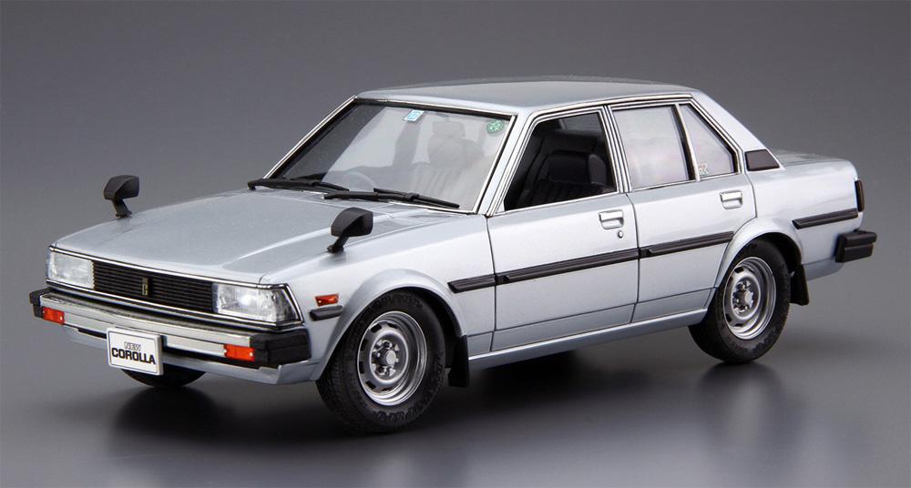 トヨタ E71/70 カローラセダン GT/DX '79(プラモデル)(アオシマ1/24 ザ・モデルカーNo.071)商品画像_2