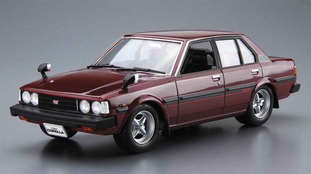 トヨタ E71/70 カローラセダン GT/DX '79(プラモデル)(アオシマ1/24 ザ・モデルカーNo.071)商品画像_3