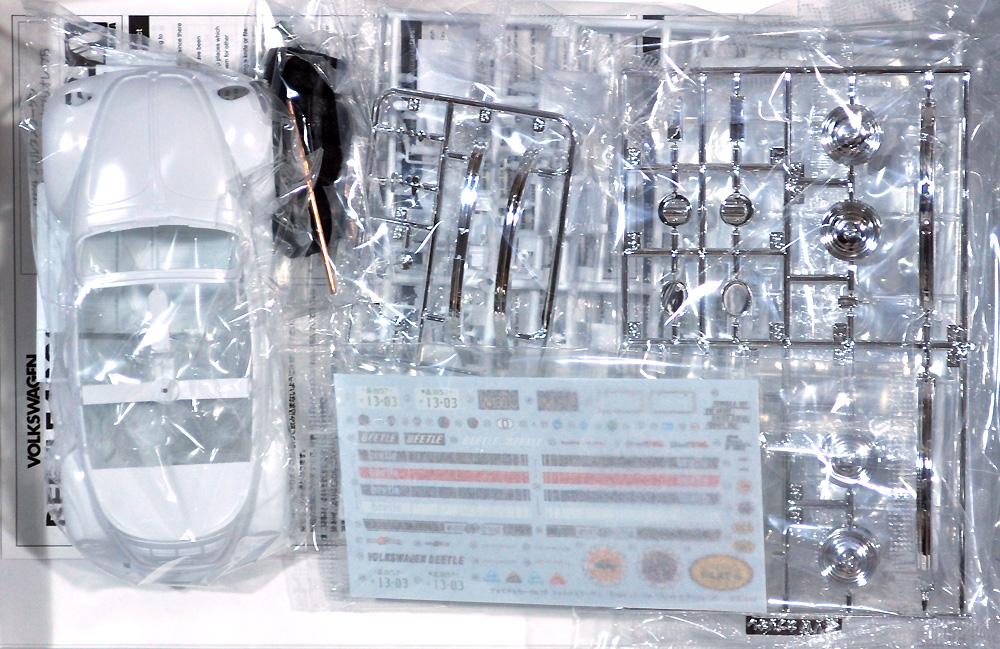 フォルクスワーゲン 15ADK ビートル 1303S カブリオレ '75(プラモデル)(アオシマ1/24 ザ・モデルカーNo.075)商品画像_1