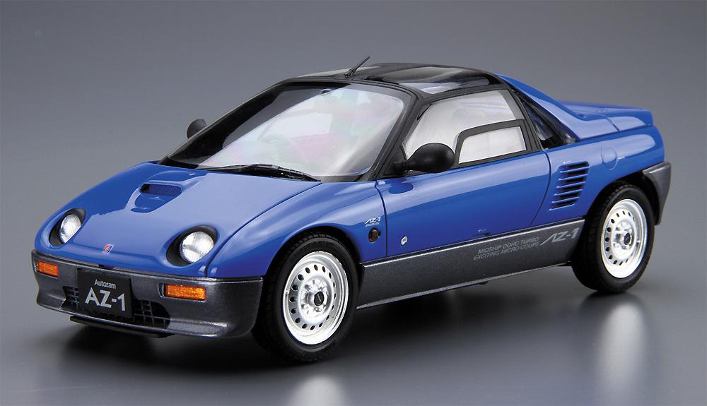 マツダ PG6SA AZ-1 '92プラモデル(アオシマ1/24 ザ・モデルカーNo.038)商品画像_2