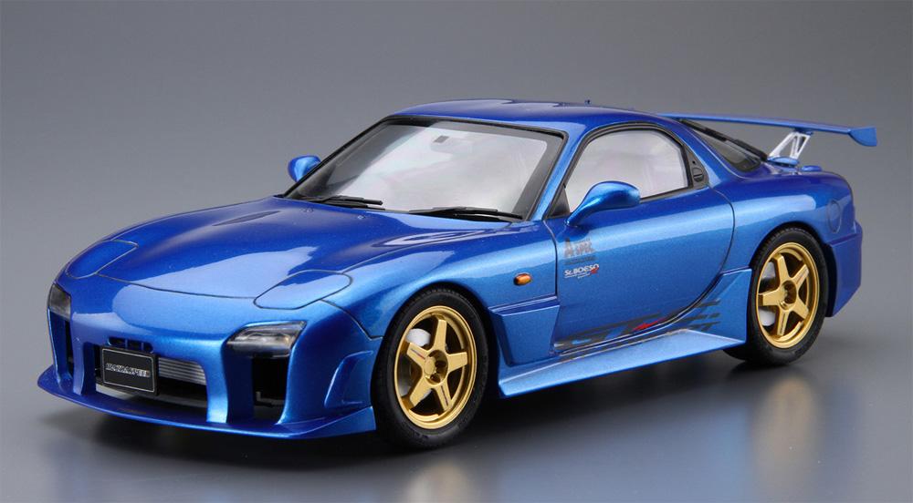 マツダスピード FD3S RX-7 Aスペック GTコンセプト '99 (マツダ)(プラモデル)(アオシマ1/24 ザ・チューンドカーNo.027)商品画像_2
